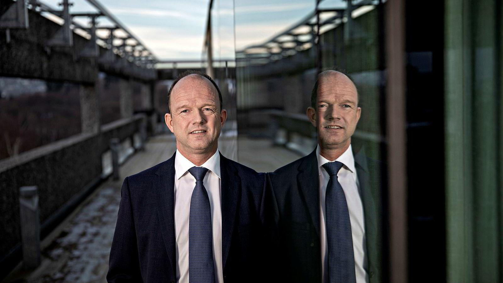 NHO-sjef Ole Erik Almlid håper norske bedrifter kan bli «verdensmestre» i en utrygg situasjon for verdenshandelen.