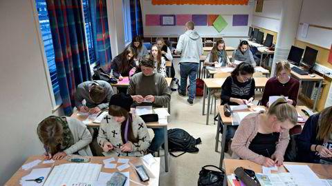 De som blir lærere ved å ta Praktisk Pedagogisk Utdanning (PPU), slipper unna det nye mattekravet. Illustrasjonsfoto: Aleksander Nordahl