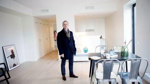 – Salgstakten er akkurat den samme som for et år siden, men det ble lagt ut flere leiligheter i første kvartal i år enn i fjor, sier partner Mikkel Røisland i Røisland & Co om nyboligsalget i Oslo i første kvartal.