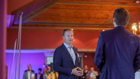Daglig leder Lars Peder Solstad i Solstad under paretokonferansen 2018.