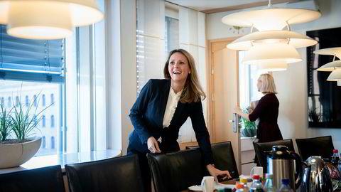 Likestillingsminister Linda Hofstad Helleland er den eneste sittende Høyre-statsråden som ikke får plass i den utvidede flertallsregjeringen.