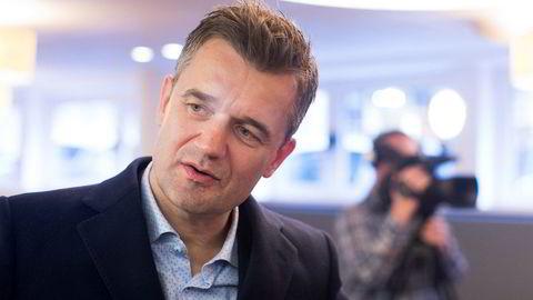 Vipps-sjef Rune Garborg. Foto: Solstad,Fredrik