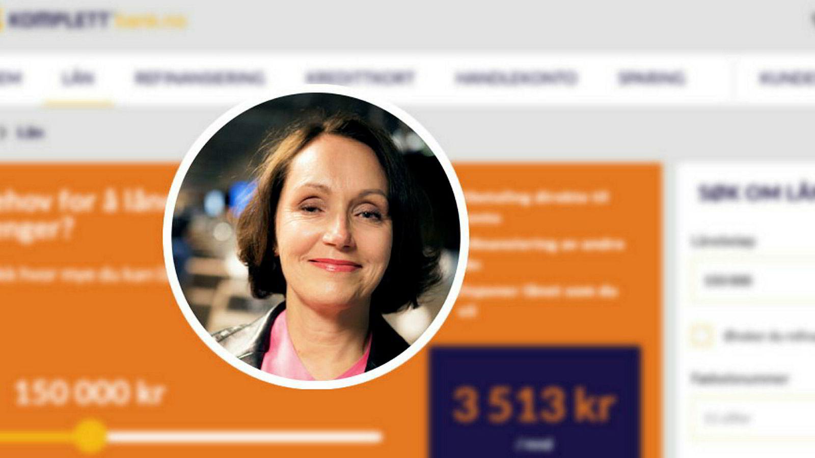 Styreleder Live Haukvik i Komplett Bank.