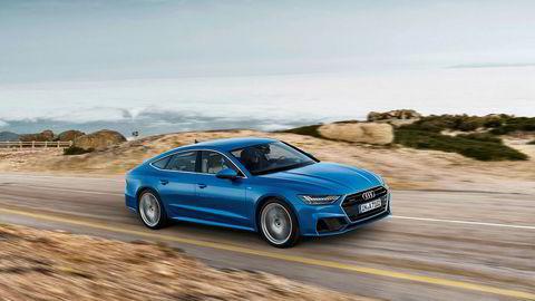 Endringene i grillen er de mest iøynefallende på den nye generasjonen Audi A7.