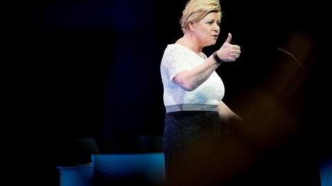 Frp-leder Siv Jensen mener hun har funnet bevis på snikislamisering av landet.