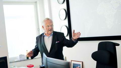 Tankreder Herbjørn Hansson har sikret seg en pensjon på rundt 112 millioner kroner.