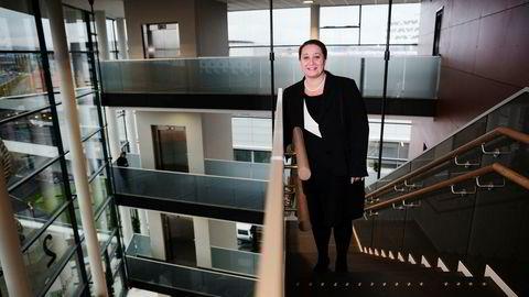 Administrerende direktør Tonje Sandberg i konsulentselskapet Accenture Norge. – Flere og flere er på jakt etter hjelp innenfor digitalisering, som er en megatrend både globalt og i Norge, sier hun. Foto: Per Thrana