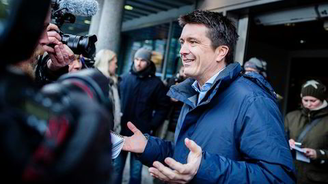 Rema-sjef Ole Robert Reitan vokser minst av lavpriskjedene. Foto: Gunnar Blöndal