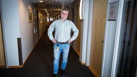 Fellesforbundets leder Jørn Eggum mener hele strukturen i leverandørindustrien er i ferd med å endres, med alvorlige konsekvenser for norske arbeidsvilkår. Foto: Gunnar Blöndal