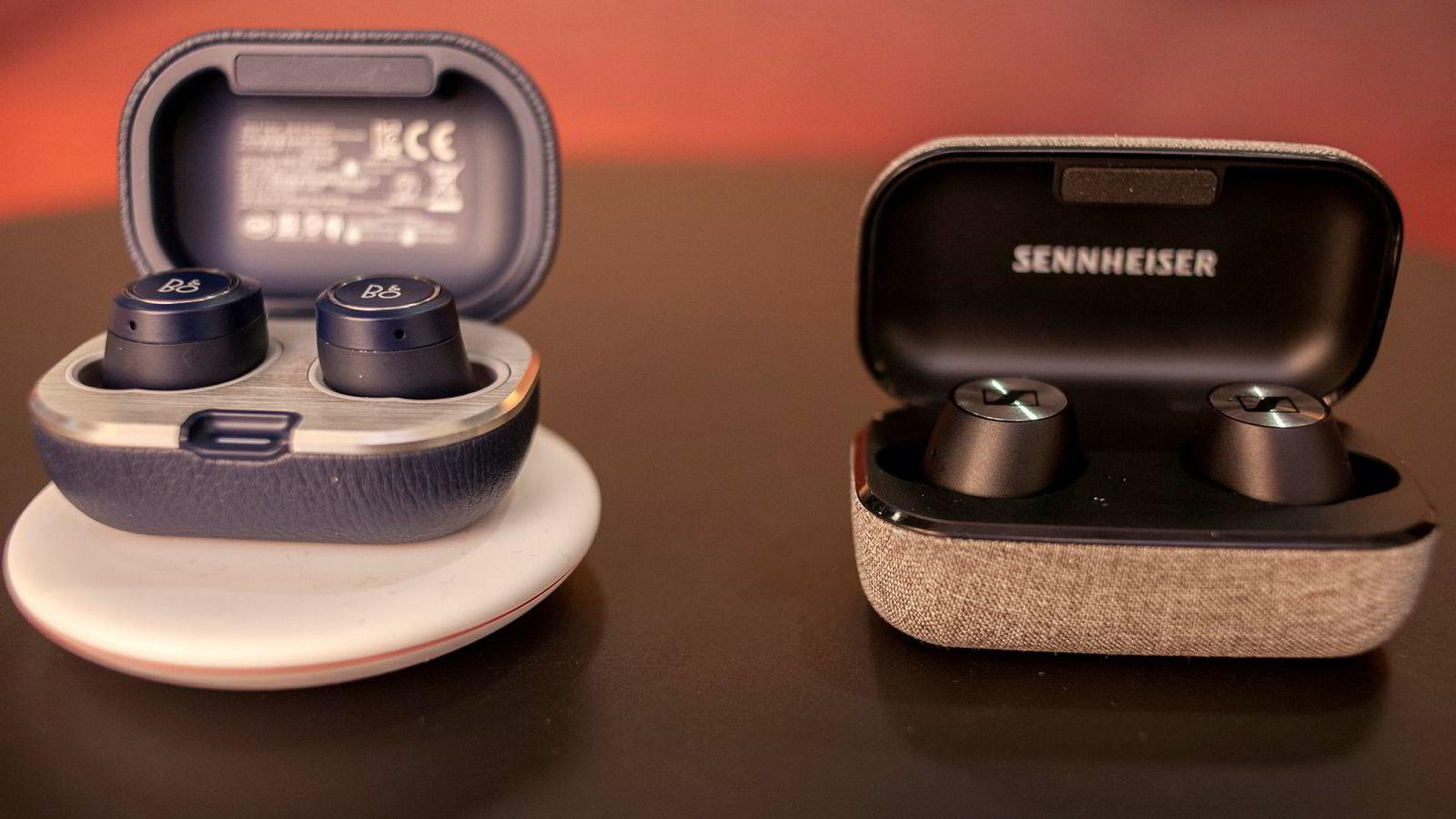 Sennheiser Momentum True Wireless og Bang & Olufsen E8 2.0 tilbyr sine tjenester til dem som ikke vil ha Apple Airpods.