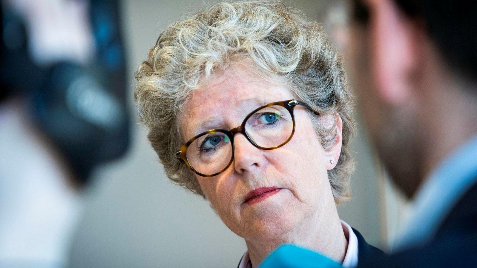Hydro-sjef Hilde Merete Aasheim.
