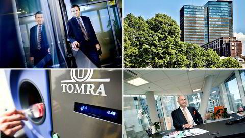 1. Styreleder i Sparebank 1 SR-Bank Dag Mejdell. 2. Eiendomsselskapet Entra eier Posthuset, som er Norges høyeste kontorbygg. 3. Positiv volumutvikling styrker Tomra-aksjen. 4. CEO i Protector Forsikring, Sverre Bjerkeli.