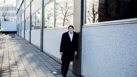 Jan Petter Sissener, investor og porteføljeforvalter synes Oslo Børs burde grepet inn tidligere overfor ledelsen i Oceanteam. Foto: Fredrik Bjerknes