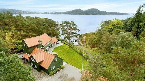 Louise Mohn har kjøpt luksusvilla med strandlinje på Milde i Bergen.