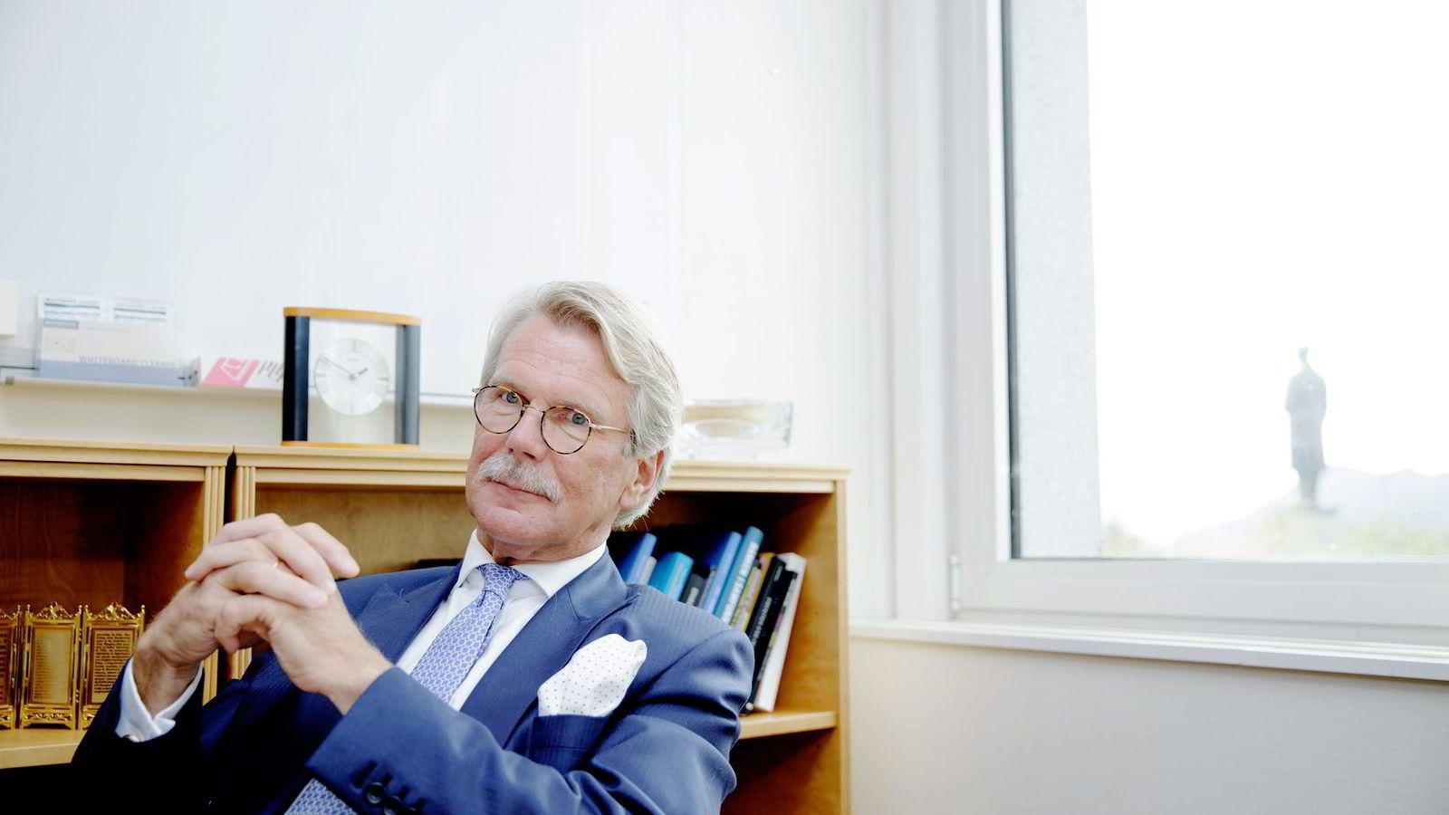 Styreleder i Sampo og Nordea, Björn Wahlroos. Foto: Paul S. Amundsen.