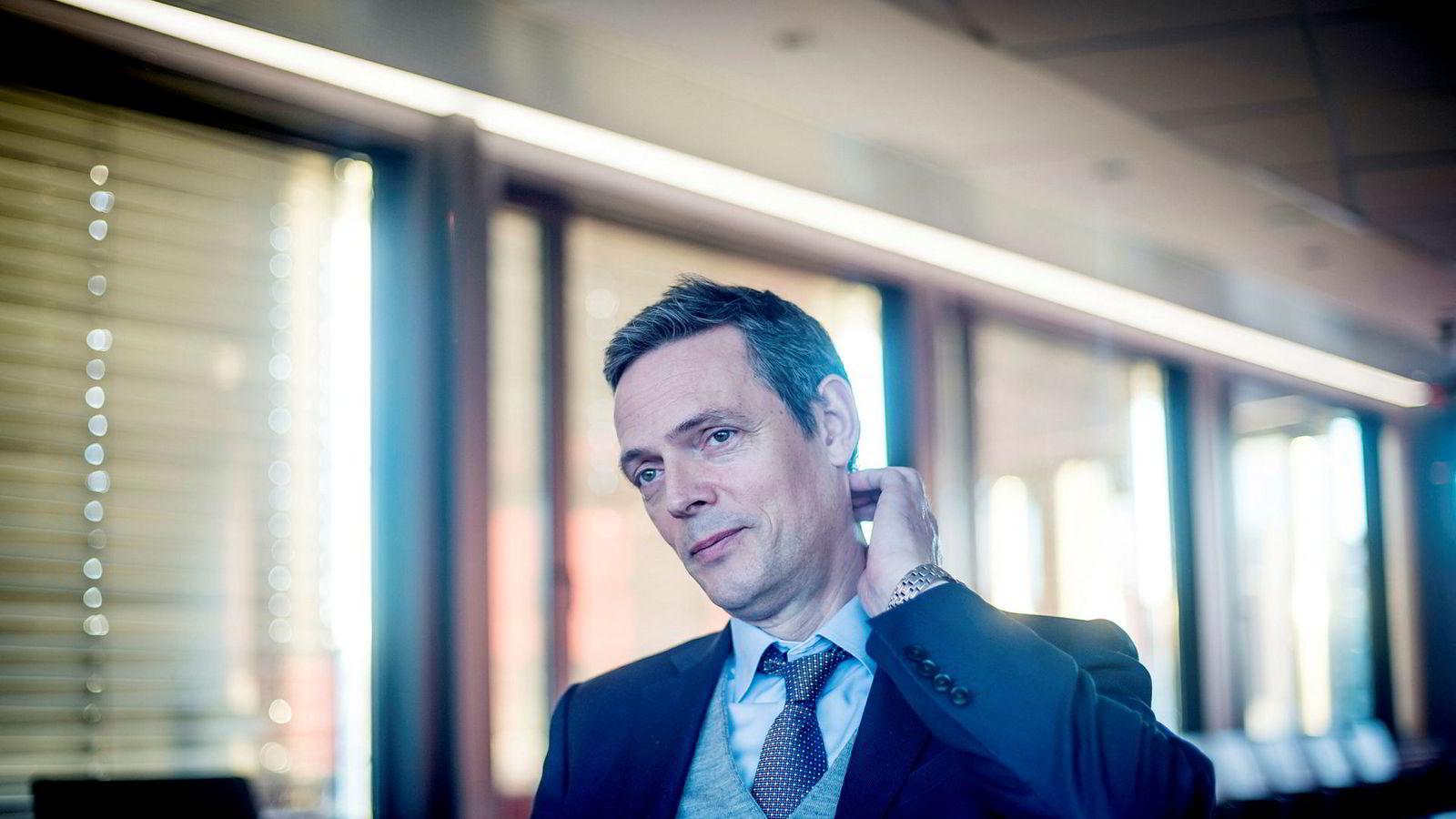 Råvareanalytiker Bjarne Schieldrop tror kobberprisen vil presses ned på kort sikt.