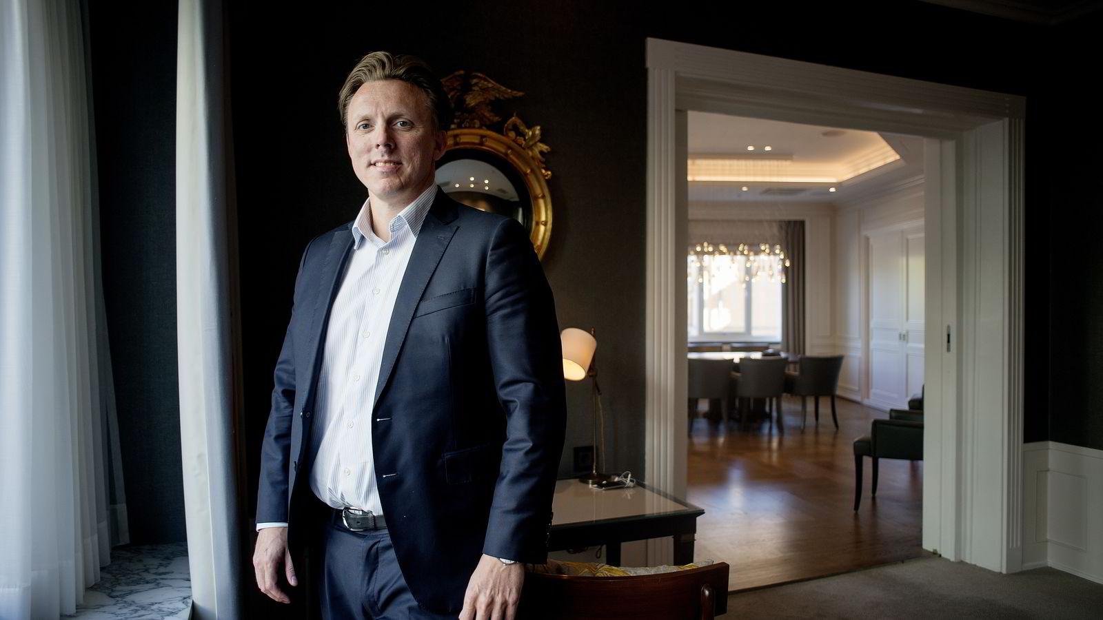 INVESTERER I TRENDER. - EQTs buy-out fond har aldri gitt et selskap til bankene. Det er en statistikk vi er svært stolte av, sier partner Anders Misund.