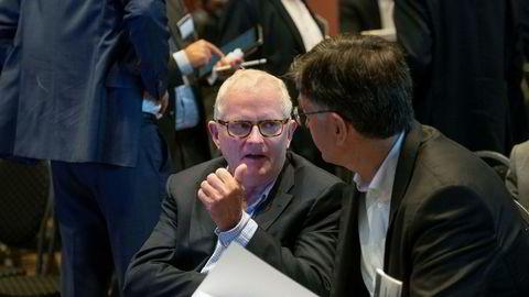 Bryn Skaugen er mindre imponert over Lan Marie Nguyen Bergs oppgjør med oljebransjen i sin tale under MDGs valgvake. – Det var det dummeste hun sa, sier investoren, her i samtale med Jon Frode Vaksvik på Pareto-konferansen onsdag.