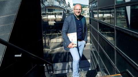 Christian Grønli er leder i Ving Norge som nå sliter med konkursen i eieren Thomas Cook.