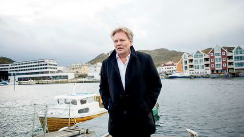 Offshorereder og krillgründer Stig Remøy, her fotografert ved sin base i Fosnavåg, Sunnmøre.