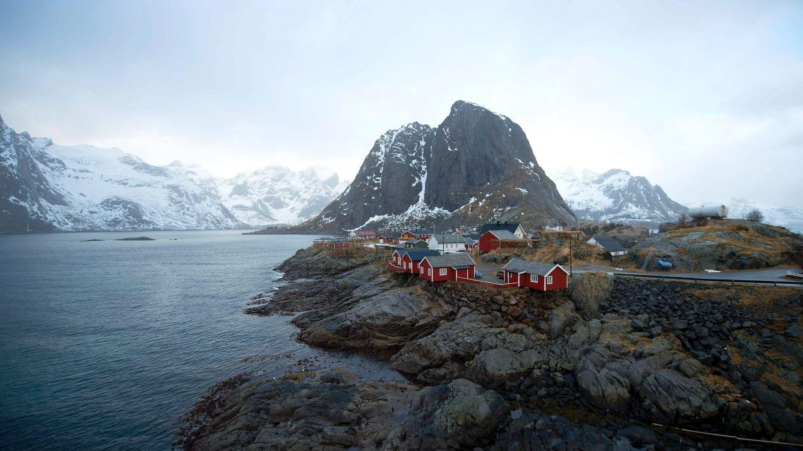 Gass fra Lofoten og Barentshavet vil måtte konkurrere med en CO2-klamp om foten. Foto: Olivier Morin/AFP/NTB Scanpix