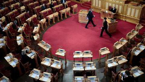Torsdag blir det full sal i Stortinget.