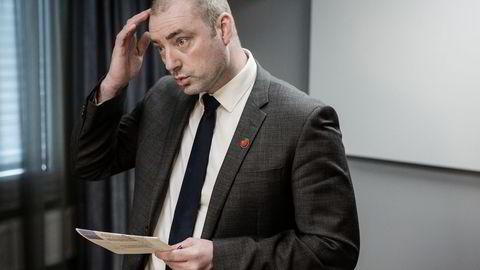 Tidligere arbeidsminister Robert Eriksson. Foto: Fredrik Bjerknes