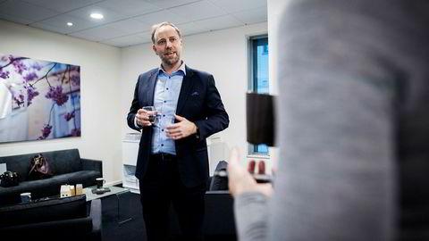 Christian v. Dreyer, administrerende direktør i Eiendom Norge.