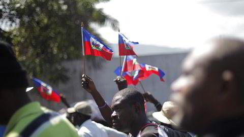 Det skal holdes valg i Haiti i august. Foto: Andres Martinez Casares / Reuters / NTB scanpix