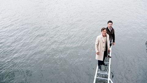 Petter A. Stordalen (til venstre) og Anders Buchardt går sammen og kjøper ut eiendommer for nær en milliard fra Tore Lies skakkjørte Otium-konsern. Foto: Elin Høyland