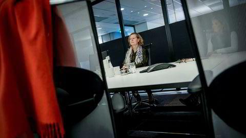 Administrerende direktør i Telenor Norge, Berit Svendsen, har ansvar for konsernets mobilvirksomhet i Skandinavia. Foto: Gorm K. Gaare
