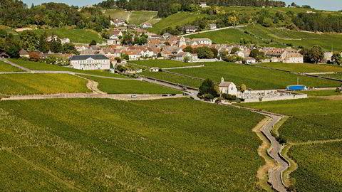 Landsbyen Volnay i Burgund byr på noen av de beste vinene i regionen.