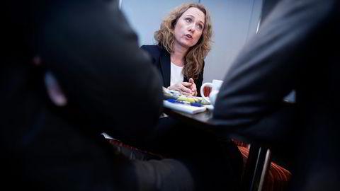– Ikke holdbart, sier arbeidsminister Anniken Hauglie (H) . Foto: Ida von Hanno Bast