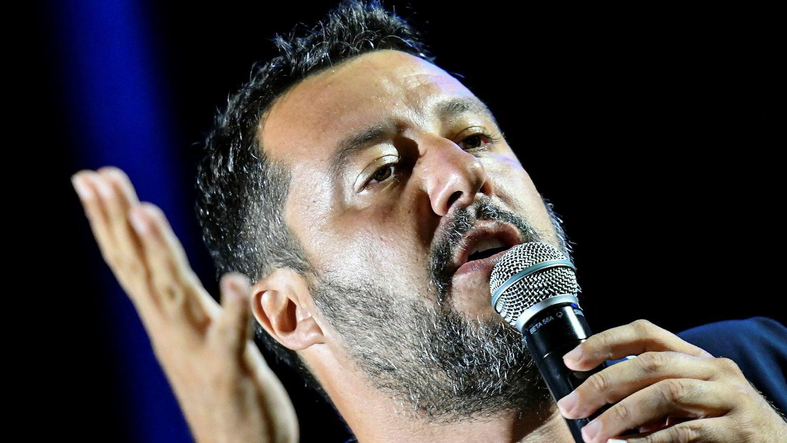 Lega-leder Matteo Salvinis ønske om nyvalg i Italia møter økt motstand.