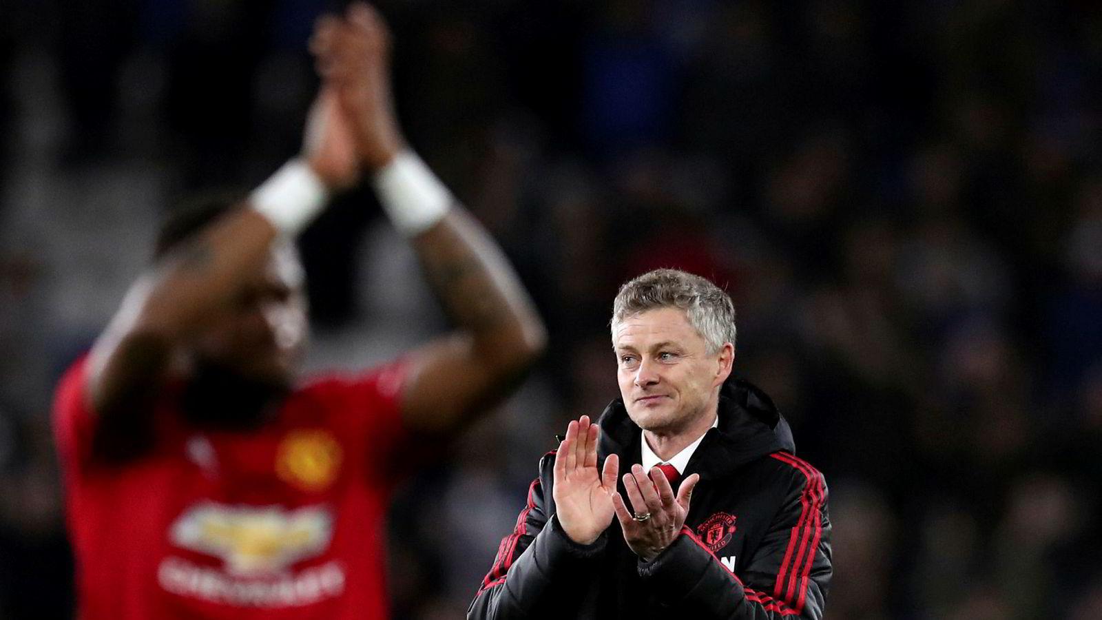 Manchester United-manager Ole Gunnar Solskjær har til salt på grøten.