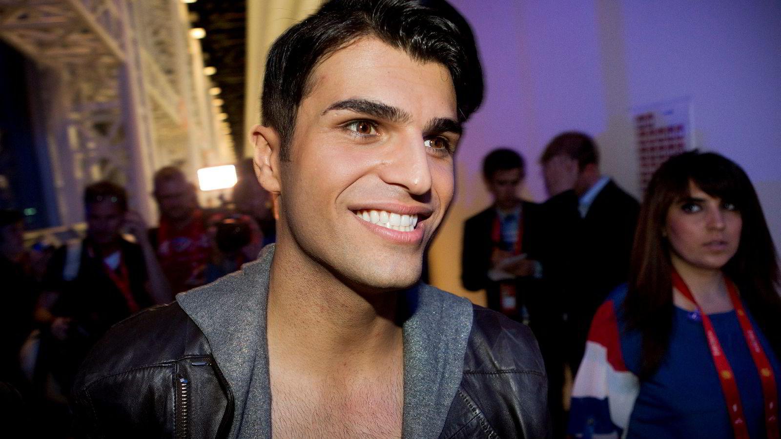 «Tooji» representerte Norge under finalen i Melodi Grand Prix i 2012, hvor han endte på sisteplass.