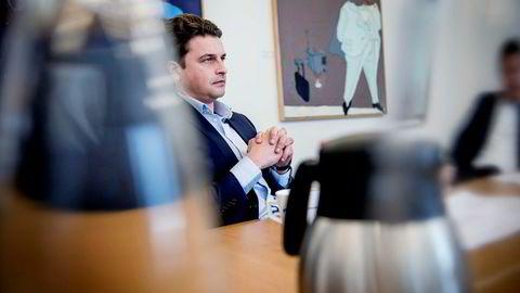 Johan H. Andresen og investeringsselskapet Ferd, her ved konsernsjef Morten Borge, har tre milliarder kroner i kontanter og totalt 19 milliarder kroner tilgjengelig hvis børsuroen tiltar.