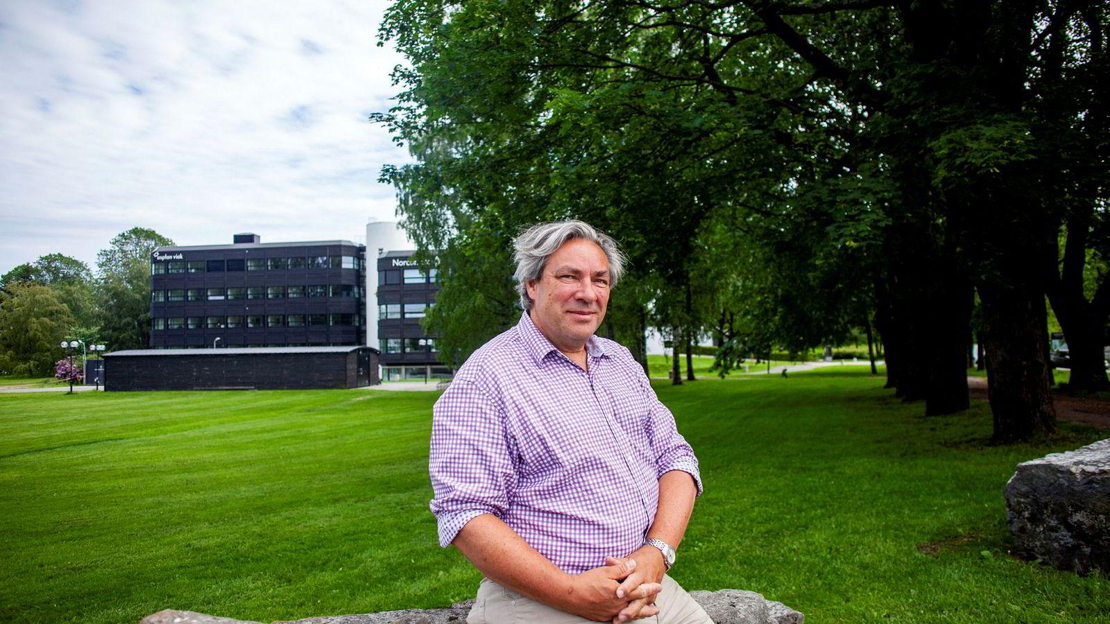 Leder Ulf Hafseld i Norsk Hydrogenbilforening (HYBIL).
