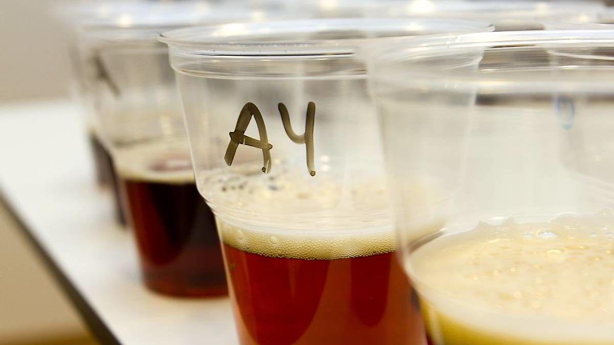 DN.nos juleøltest ble utført blindt. Prøvesmakerne fikk ikke vite hvilket øl de smakte på.