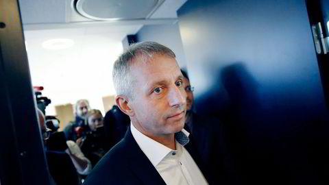 Tidligere Vimpelcom-sjef Jo Lunder har trukket seg som styreleder i it-selskapet Evry. Foto: Fredrik Bjerknes