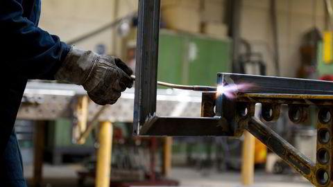Det er mer eller mindre sidelengs utvikling i industrien, ifølge bransjeorganisasjonen Norsk Industri. Illustrasjonsfoto: Jan Haas /