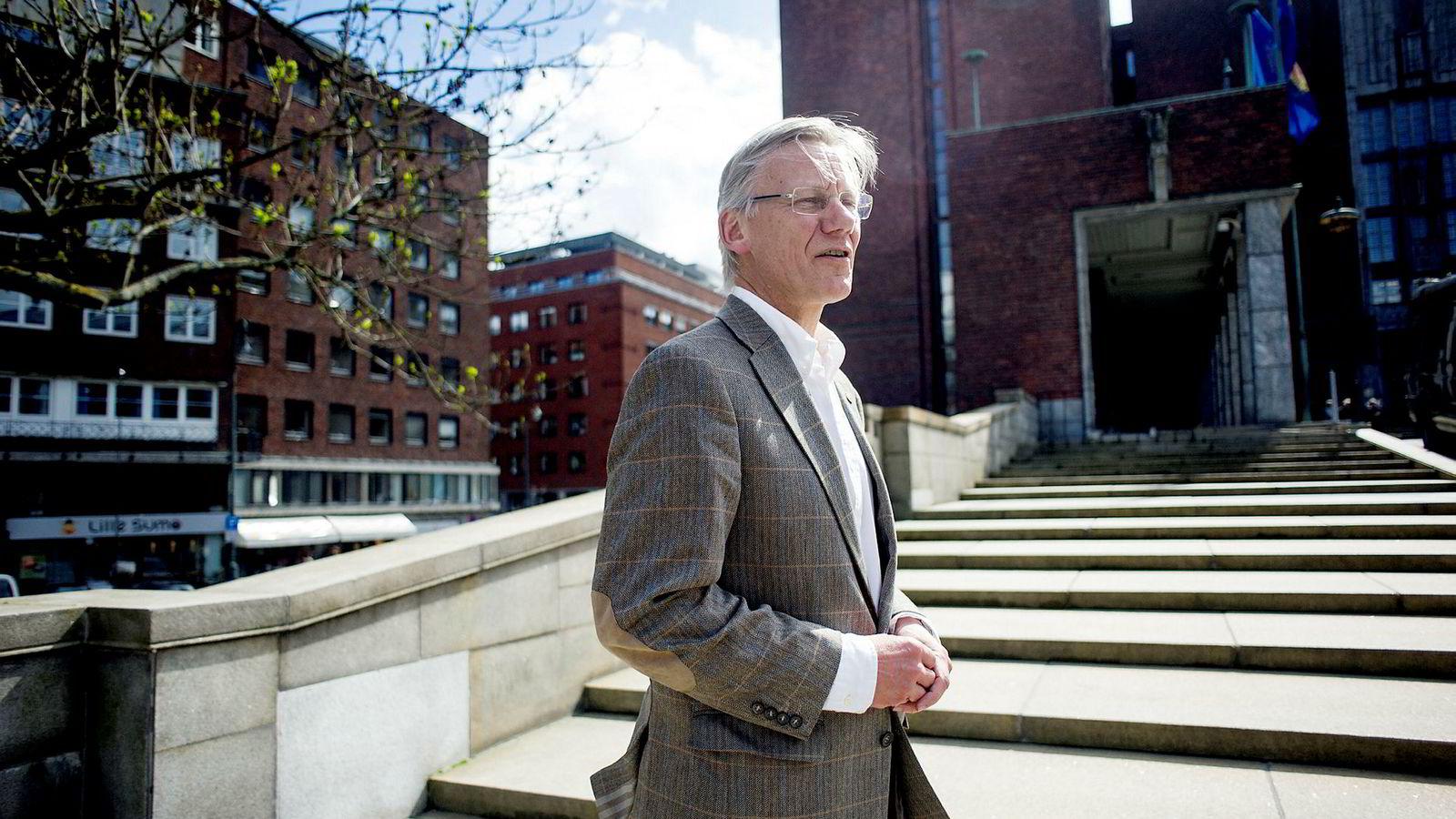 Leder James Stove Lorentzen i Oslo Høyres programkomité.