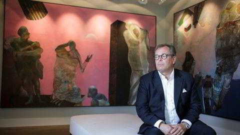 Administrerende direktør Knut Brundtland i ABG Sundal Collier legger onsdag frem resultater for fjerde kvartal.
