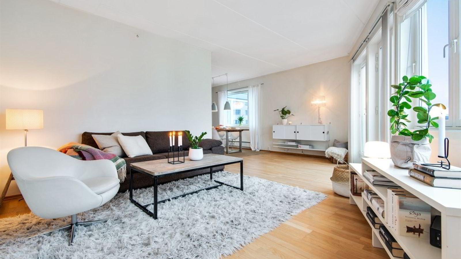 Denne leiligheten på Carl Berner ble solgt for 550.000 kroner over takst.