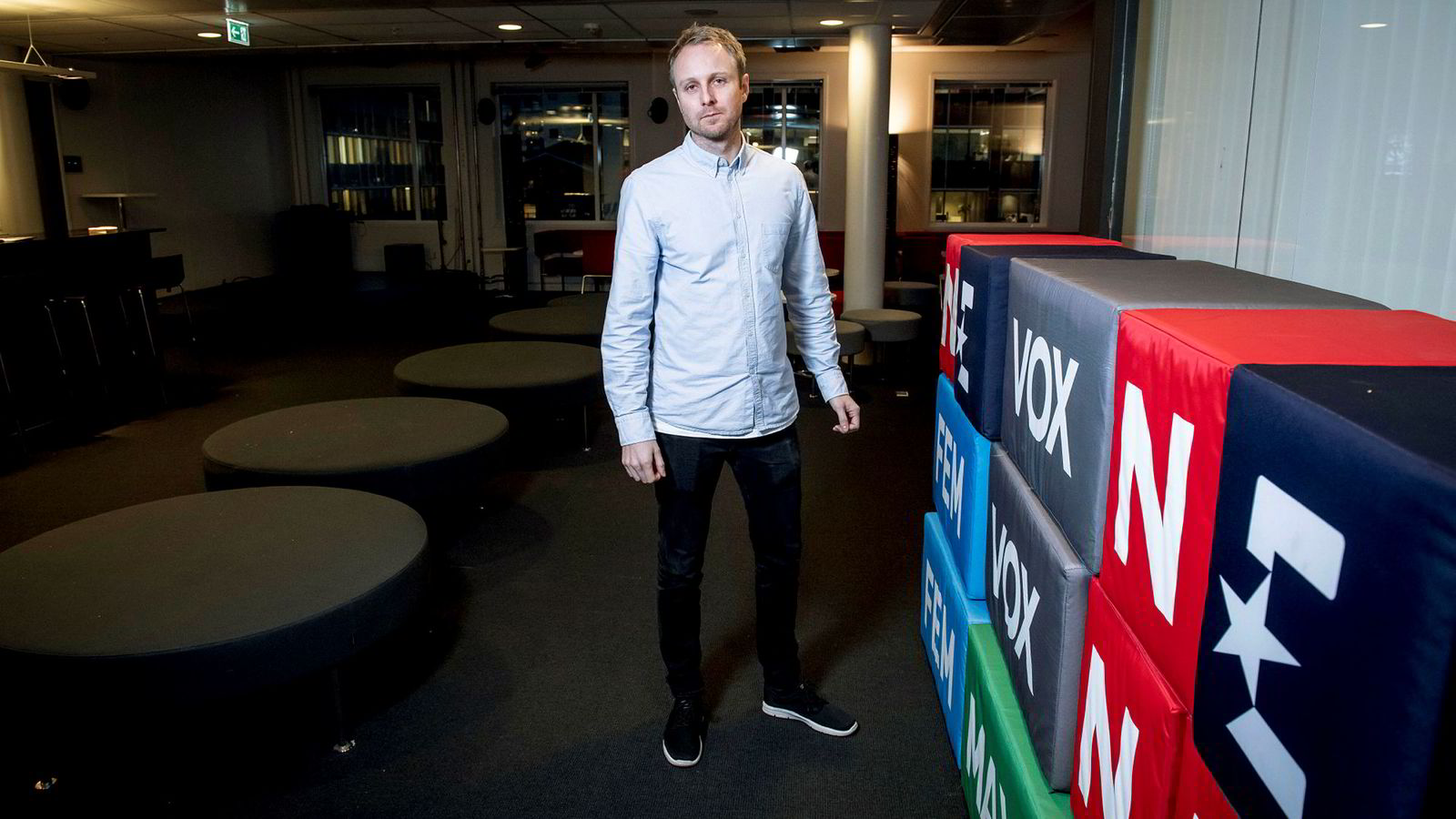 Kommunikasjonsdirektør Espen Skoland og Discovery kjemper mot regjeringens nye lovforslag, som kan bety slutten på de lukrative reklameinntektene fra utenlandske spillselskaper.