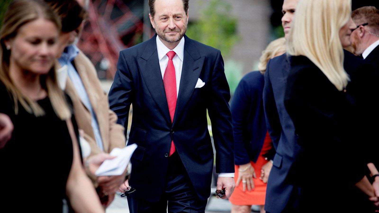 Kjell Inge Røkke er største eier i industrikonsernet Aker.