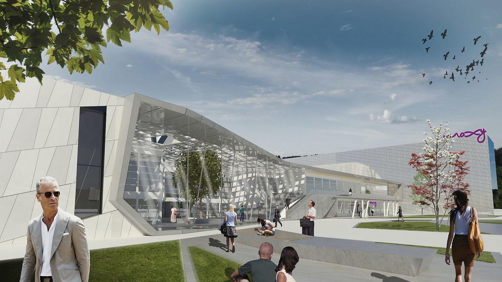 Med etableringen av Moxy-hotellet og nye Exporama satser SHM på å ta opp kampen med de etablerte konferansehotellene på Østlandet. Bilde: APTO Architects