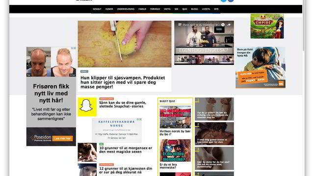 c060e381 Buzzit selges – slutt for viralsider i norsk presse   DN