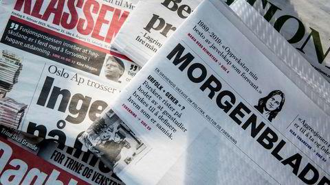 Norske aviser har bedre motstandskraft enn amerikanske, mener avisforsker Sigurd Høst.