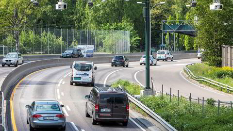 1.juni innføres det flere bomstasjoner og endret takstsystem for bilister i Oslo og Akershus. Her ved Bygdøylokket mot Skøyen.